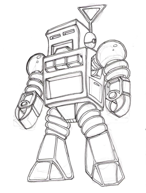 Retro Robot Wip By Pittstop On DeviantArt