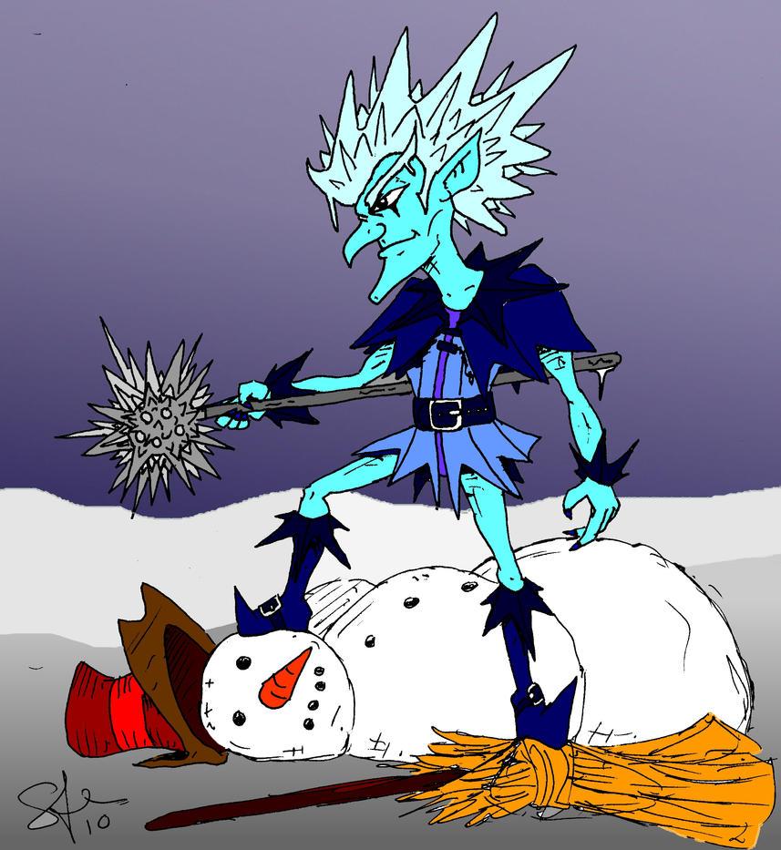 Frosty got served by pittstop