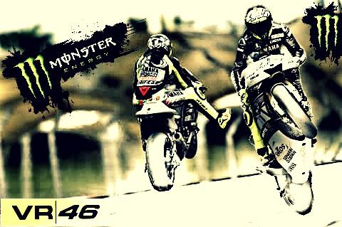 Valentino Rossi 46 by MIGUELF22