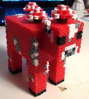 Minecraft Mooshroom by Pinknihon