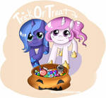 Trick or Treat - Tia + Luna