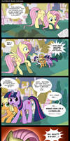 Fluttershy Reads Cupcakes