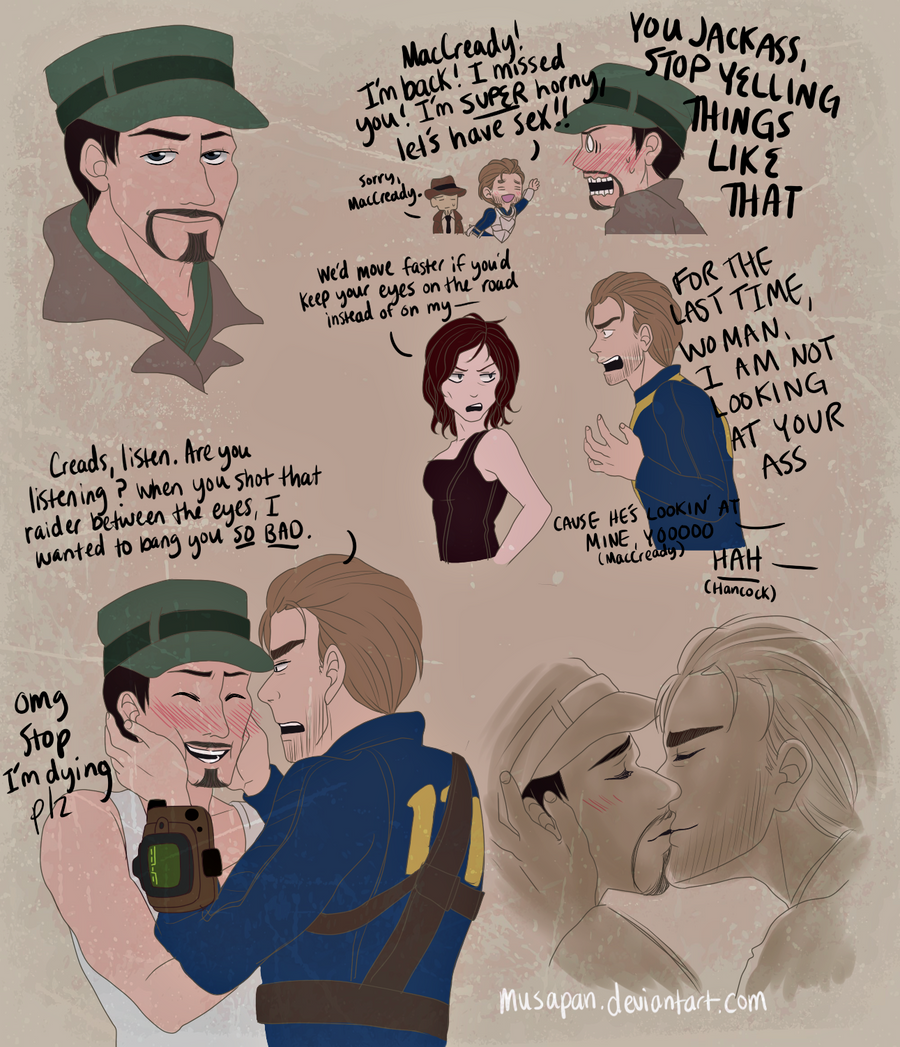 maccready flirts with piper Read maccready x reader from the story fallout x reader by piper x reader maccready x at the moment and when fuckboys start flirting with me i get.