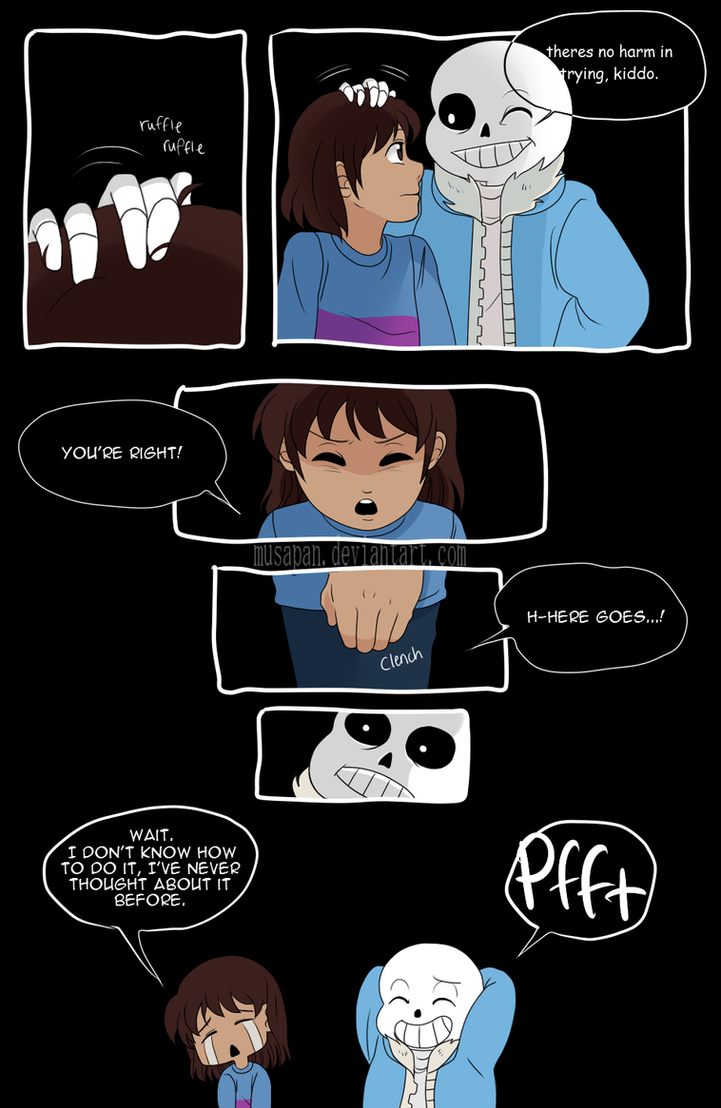 but somebody came - Page 06 [Undertale] by Musapan