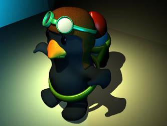 Maya Penguin