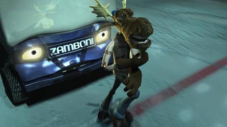 Moose and Zamboni