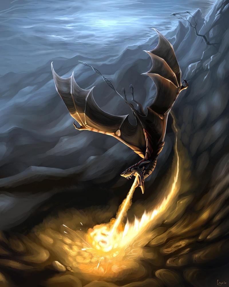Fiery race by Coyrin