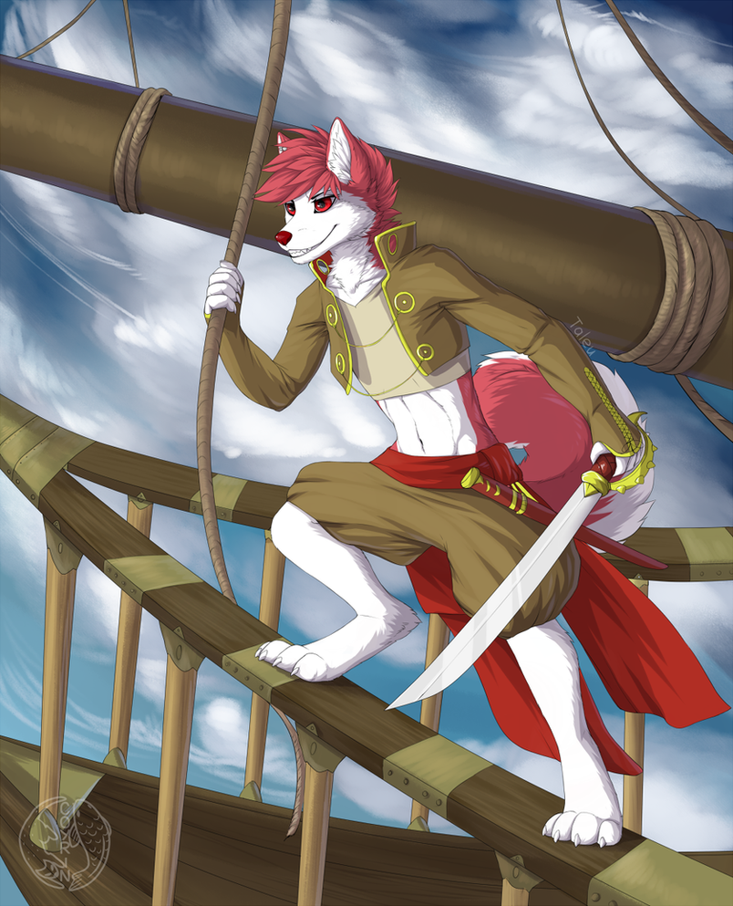 Sky pirate by Coyrin