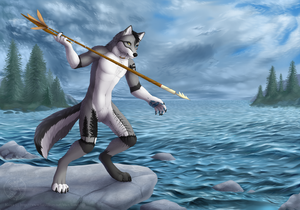 Fishing by Coyrin