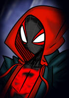 Spider-Man (Miles Morales) - Into The Spider-Verse by Jolanos