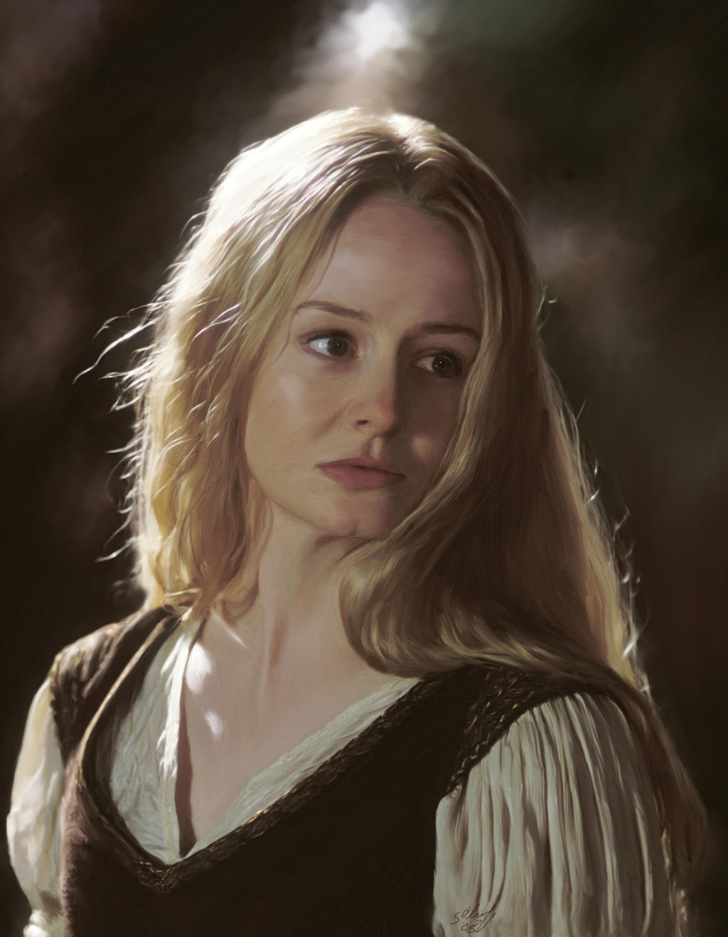 Eowyn - Lady of Rohan by Obgee
