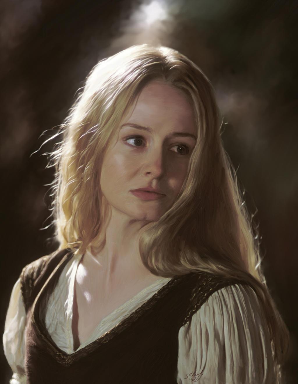 Eowyn - Lady of Rohan by Obgee