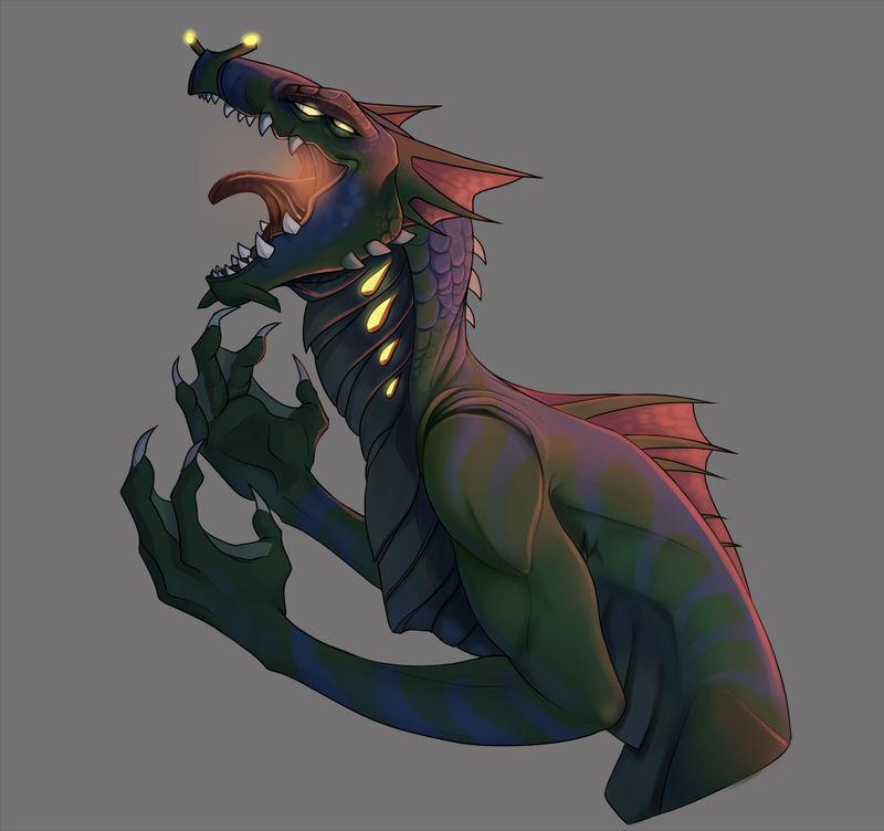 Cresnik Sea Dragon Leviathan By Melted Dryice On Deviantart Sea dragon leviathan epic battle! cresnik sea dragon leviathan by