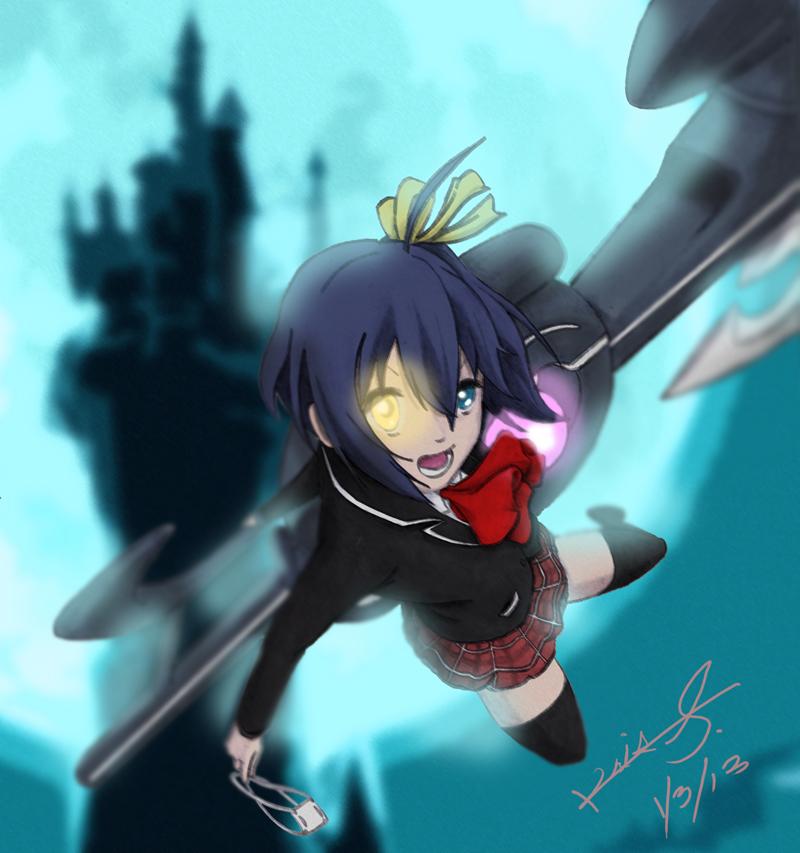 Chuunibyou Demo Koi ga Shitai! Rikka Takanashi by SC2Battousai