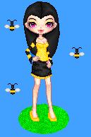 Bee Girl for blackbunny by Jaden420