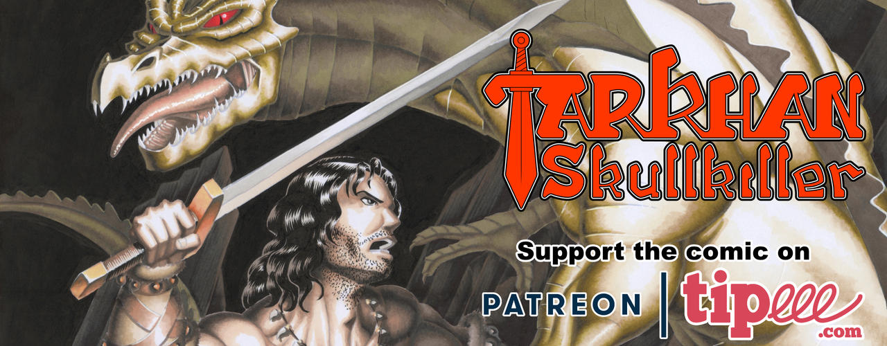 Tarkhan Skullkiller, a sword and sorcery adventure