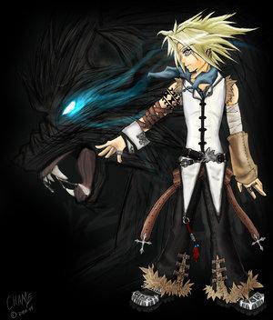 blonde hair anime boy