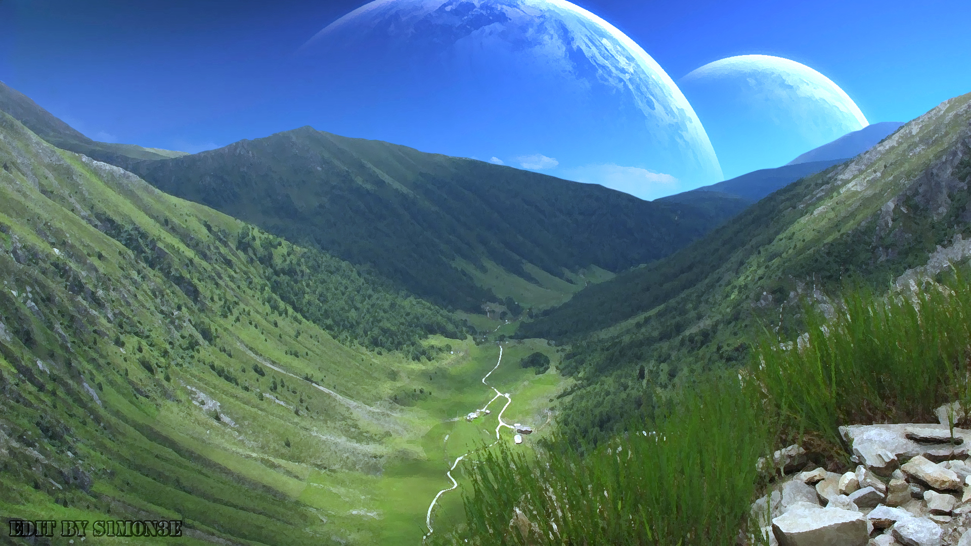 alien landscape by ttllkk2 on DeviantArt