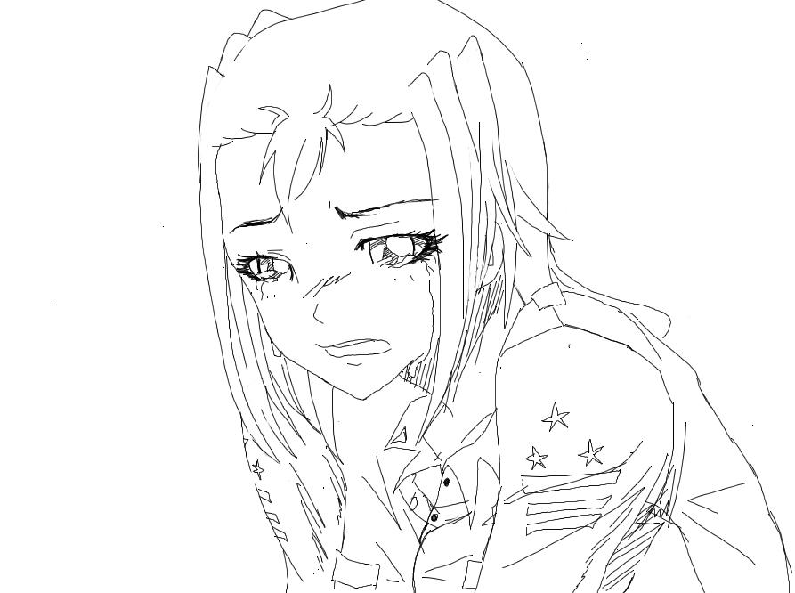 Free Sketch Mylena Triste By ShokoLove