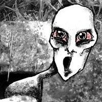 A ghost by frosinaj