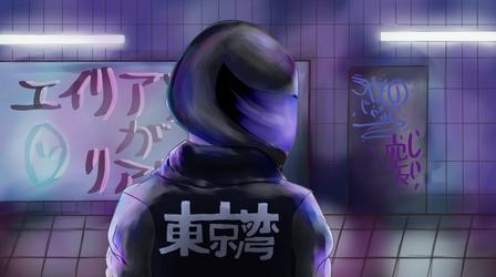 Cyberstatic Alien by Shianfox