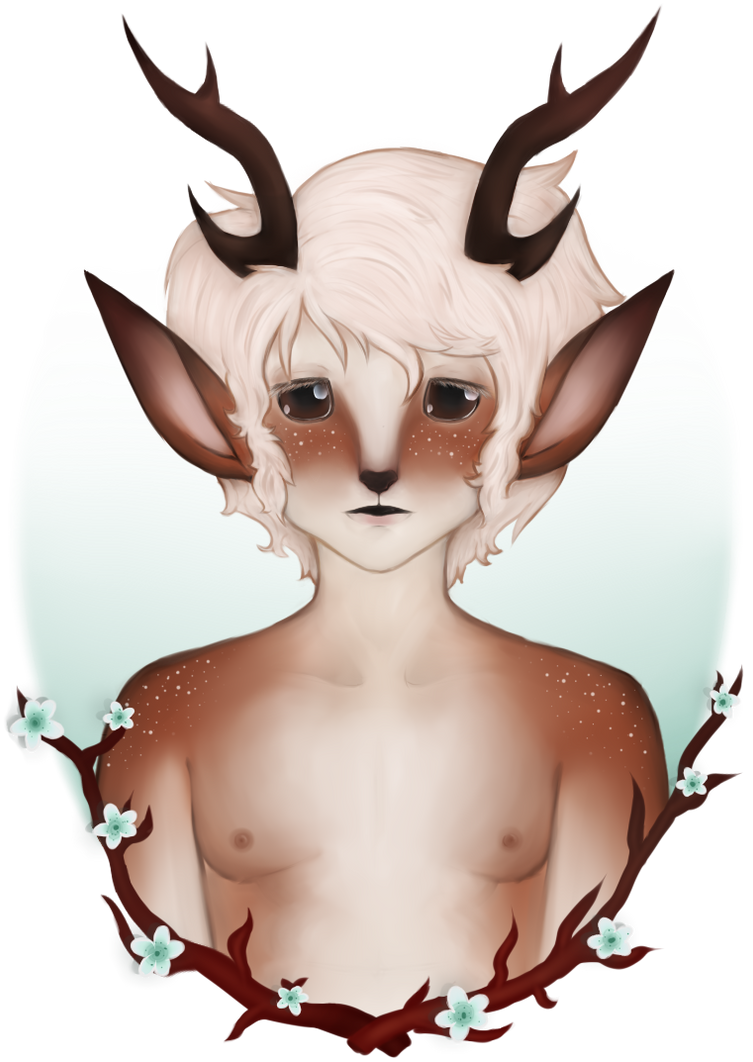 .:Deerboy:. by ladyj403