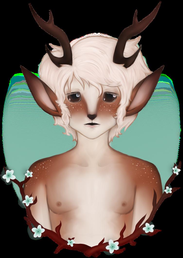 .:Deerboy:. by ladyj403