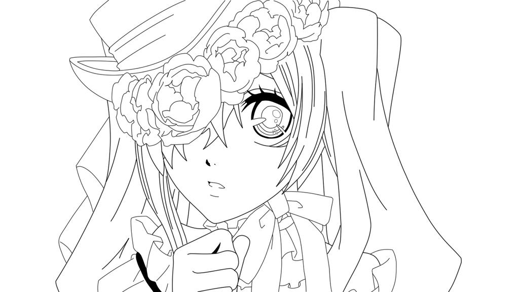 anime ciel coloring coloring pages black butler chibi coloring pages - Black Butler Chibi Coloring Pages