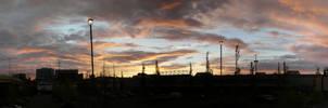 Sunset Over Everett