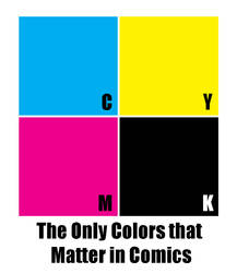 The Only Colors That Matter In Comics