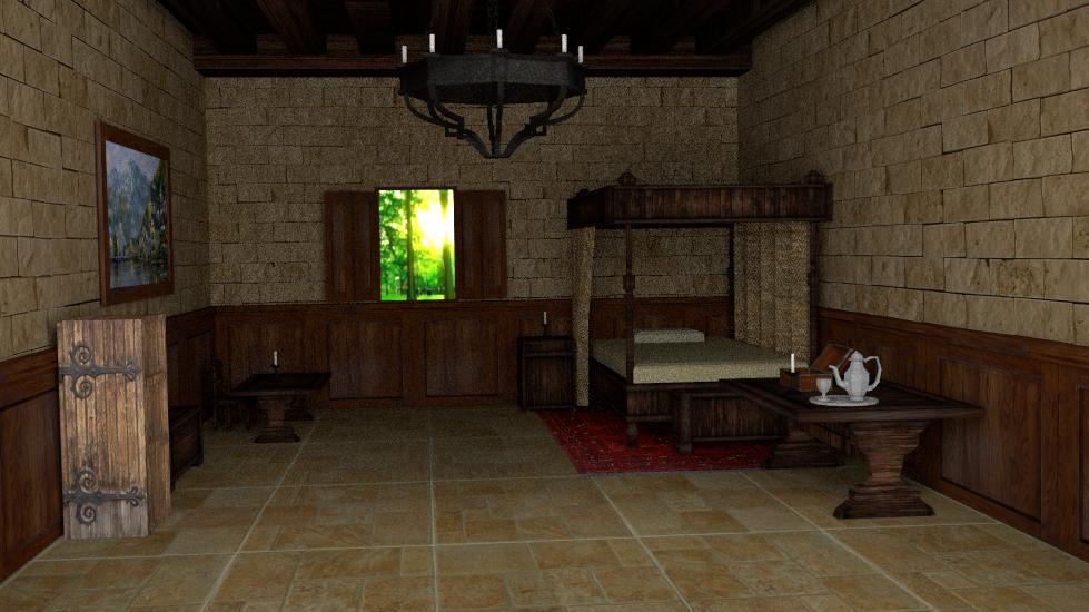 interiorbedroom by andyhatcherfs on deviantart
