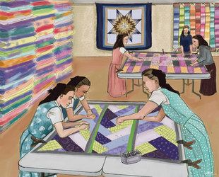 Pinning Quilts by wren2002