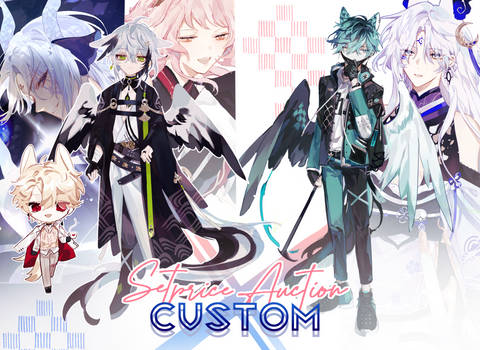 [CLOSED] CHARACTER DESIGN SETPRICE + AUCTION