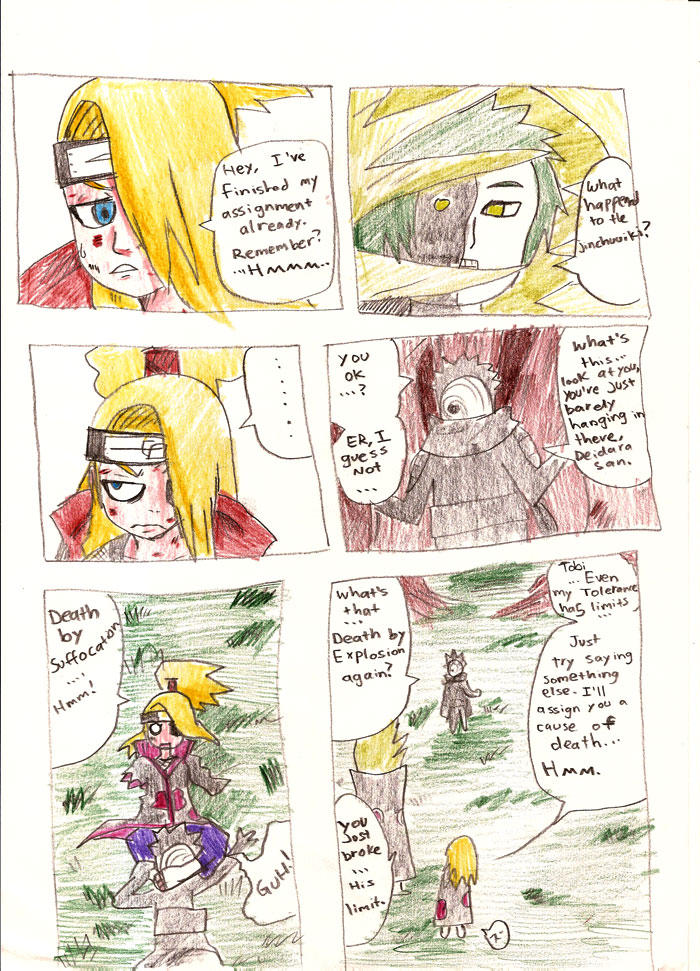 Naruto comic by NarutoPix
