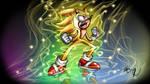 Rainbow Super Sonic by LegendofRemnant