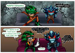 Scourge and Mephilis Chilling by LegendofRemnant