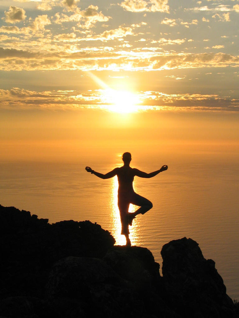 Table Mountain Yoga by katyp