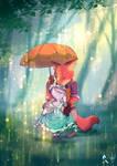 Judy and Nick and the rain