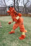 Red XIII cosplay by orangecorgi