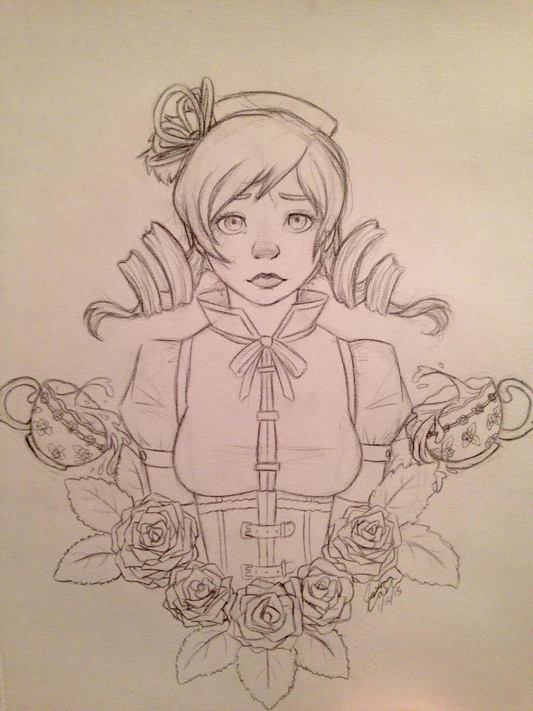 Mami Tomoe sketch by orangecorgi