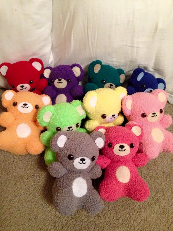 Sock Bears 1 by orangecorgi