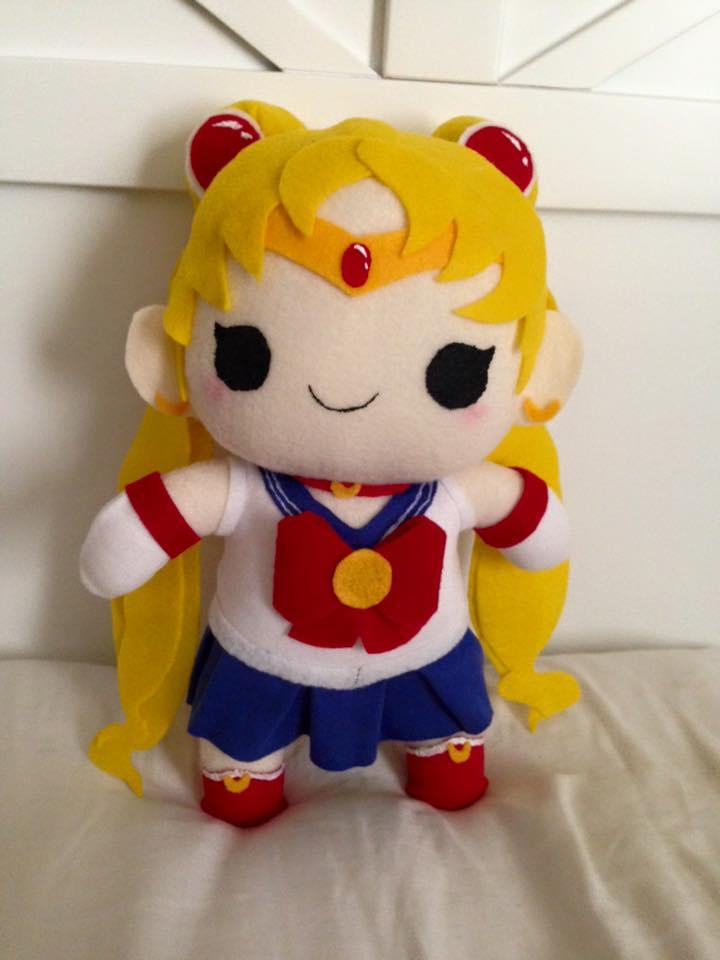 Sailor Moon Chibi Plush by orangecorgi