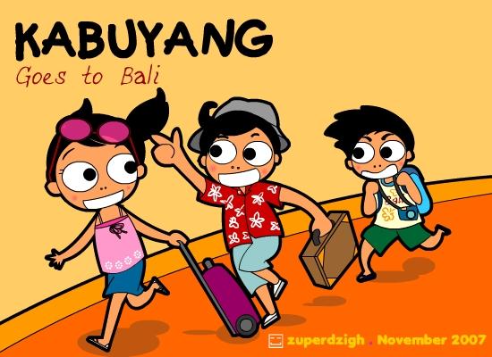 Kabuyang goes to Bali by zuperdzigh