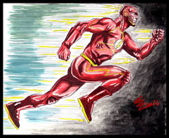 The Flash by Maximus