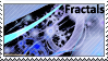 White Fractal Stamp by Dragon-of-Midnight
