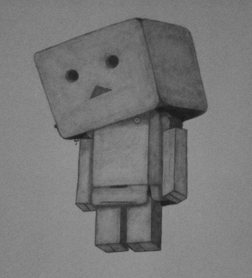 Danbo drawing- sad by mikaFrei on DeviantArt