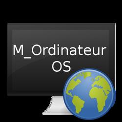 M_Ordinateur OS logo by MOrdinateur