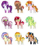 Inky Breedable Adopts- CLOSED by Cashmere-Cuddles