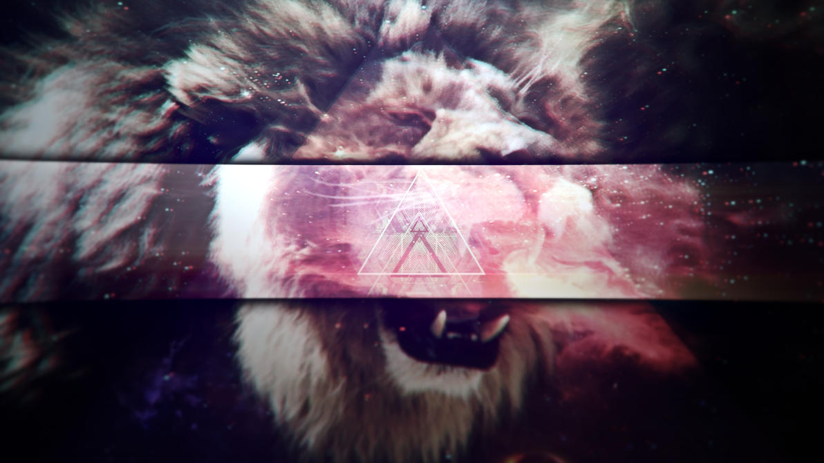 Hipster Lion Wallpaper By RealboyzxD14