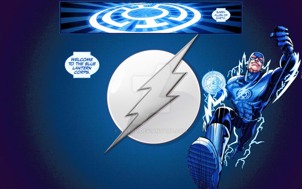 Blue Lantern Flash By Abard On Deviantart